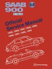 Saab 900 16 Valve Official Service Manual: 1985, 1986, 1987, 1988, 1989, 1990...