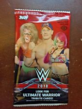 2018 Topps WWE Factory Sealed Hobby Pack - 7 Cards