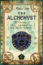 The Alchemyst: Secrets of the Immortal Nicholas Flamel, Michael Scott HARDCVR+DJ