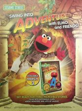 2009 Swing Into Adventure With Elmo Full Magazine Ad-Page