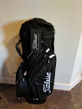 Brand New Black Titleist Golf Cart Bag TB6CT5-00