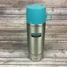 Vintage Thermos Vacuum Bottle Quart Size 2464H Stainless Steel King Seeley w/Box