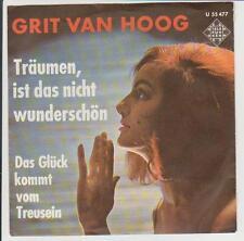 """7"""" Grit van Hoog Träumen ist das nicht wünderschön Telefunken U 55 447"""