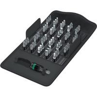 WERA Bit-Sortiment Bit-Safe® 61tlg Bits zähhart Innen-6-Kant/Schlitz/Kreuz/Torx