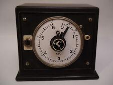 Antique Rare German Art Deco Bakelite Porcelain Deer Logo Electric Switch Timer