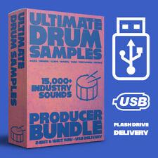 More details for ultimate drums - 23,000+ samples - trap, hip hop, pop, edm, house - usb delivery