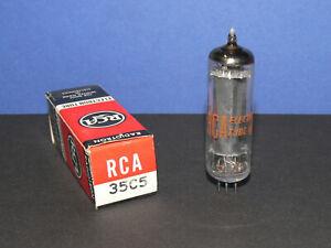 RCA 35C5 Röhre Tube Strahlbündel Endröhre Elektronenröhre neu in OVP