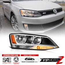 """PASSENGER SIDE"" 2011-2018 VW Jetta Sedan Factory Style Headlight Replacement RH"