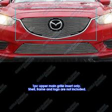 Fits 2014-2016 Mazda 6 Aluminum Main Upper Billet Grille Insert