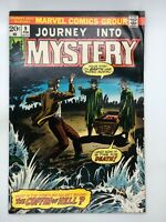 JOURNEY INTO MYSTERY #9 MARVEL 1974 BRONZE AGE COMIC COFFIN OF HELL!