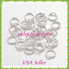 5mm 150pcs .7mm 21G Silver Plated Jump Rings Jewelry Findings Open Split Earring