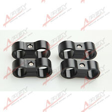 4PCS 4AN AN-4 11.9mm to 6AN AN-6 14.6mm Stepped Billet Dual Hose Separator