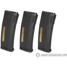 New listing KWA 30/120rd MS120C Mid Capacity Airsoft Rifle Magazine 3 Pack BLACK