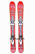 BUZZ Atom MAX  RED 99 cm Skis inc Release Bindings Snowblades mini ski blades