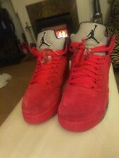 Nike Air Jordan V(5) Retro Youth SZ 6Y Red Suede foamposite yeezy 1 2 3 4 5 6 7