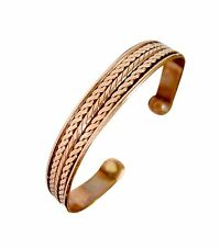 Unisex Bio Magnetic Pure Copper Arthritis Pain Relief Strength Bracelet-Bangle
