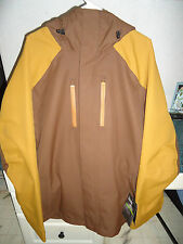DAKINE CANYON SNOWBOARD / SKI JACKET MEN'S LARGE (L) CARAFE / BROWN SRP $260