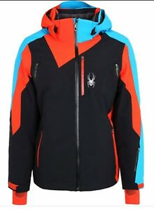 Spyder Vyper Mens Large Ski/Snowboard jacket Red/Blue