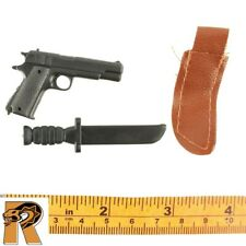 WWII Infantry - 1911 Pistol & Knife - 1/6 Scale - SOW Action Figures
