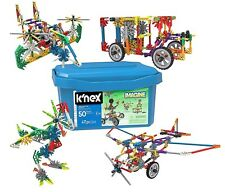 K'Nex Knex Imagine 50 Build 417pc Storage Tote 16511 Creation Zone Building Set