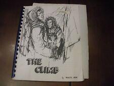 Vintage ORGINAL Star Trek Fanzine THE CLIMB - FIRST EDITION FROM 1975 RARE