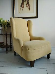 Howard & Son Style Armchair  Edwardian Low Seat High back delivery possible