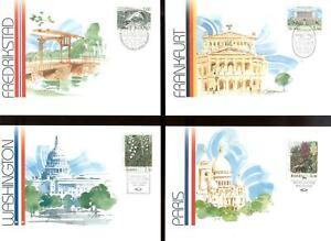 ALAND 1989 Ausstellungskarten/Exhibition Cards komplett