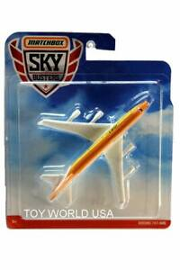 2019 Matchbox Sky Busters Boeing 747-400