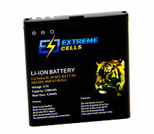 Extremecells batteria Nokia bl-5k n85 701 c7-00 n85 n86-8mp x7-00 ORO BATTERIA ACCU