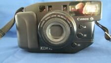 Canon Sure Shot Zoom Xl Point & Shoot Camera - With Case & Extra Lens