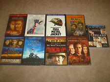 WAR Movie Blu-ray DVD LOT Legends of the Fall We Were Soldiers Full Metal Jacket