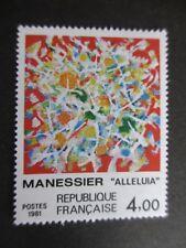 Timbre - FRANCE - Tableau de MANESSIER - Alleluia - 1981  - neuf ** - n° 2169