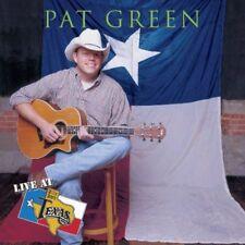 Pat Green - Live at Billy Bob's [New CD]
