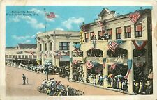 Florida, FL, West Palm Beach, Poinsettia Hotel 1920's Postcard
