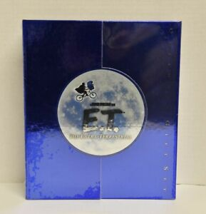 E.T. The Extra Terrestrial Ultimate DVD Gift Set CD Book 3-Disc Set 2002 *NEW*