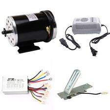 11T Sprocket 1000w 48v Electric Motor + Control Box + Charger + Pedal Throttle