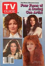 1986 TV Guide - Madolyn Smith - Mary Hart - Pat Robertson - Benny Goodman - CNN