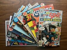 Silver/ Bronze Age Dc lot All Star Comics, Strange Adventures