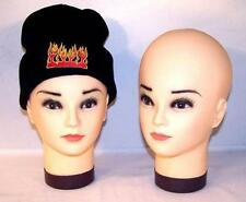 Painted Rubber Head Display For Hats Scarves Bandana mannequin heads sales tool