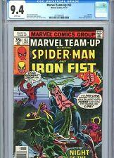 Marvel Team-Up #63 CGC 9.4 WP Spider-Man Iron Fist Marvel Comics 1977