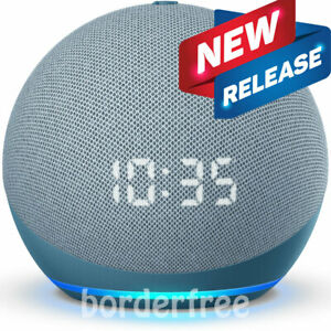 AMAZON Echo Dot (4th Gen) | Smart speaker with clock and Alexa | Twilight Blue