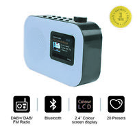 Urban DAB/DAB+ Digital & FM Radio, Portable Wireless, Bluetooth, FM Alarm -Grey