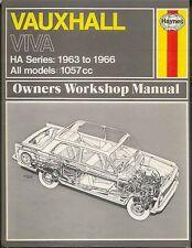 Vauxhall Viva HA Series & Beagle Estate & Vans 1963-1966 Haynes Workshop Manual