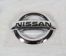 NISSAN SENTRA TRUNK EMBLEM 07-12 BACK NEW GENUINE OEM BADGE sign symbol logo