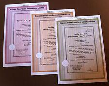 3 Hispano Americano International Limited