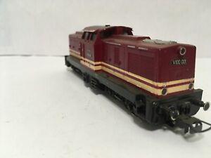 Diesellok rot - Gützold V100 001,OVP, H0,