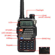 UV-5RE Plus Hand-funkgerät Walkie-Talkie Amateurfunk PMR CTCSS BaoFeng Headset