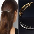 Fashion Girls Women Metal Gold Silver Barrette Hair Clip Hairpin Hair Accessory