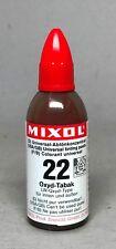 Mixol #22 TOBACCO Universal Tint 20ml Bottle FREE SHIP