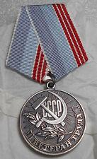 1 Medal Veteran of Labour / Veteran Truda Russian USSR Medal 1974-1991 Not Used
